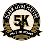 Black Lives Matter 5k - Move for Change - Logo